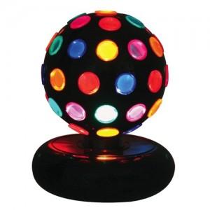 "LAMPARA ""MULTI-COLOR ROTATING DISCO BALL"""